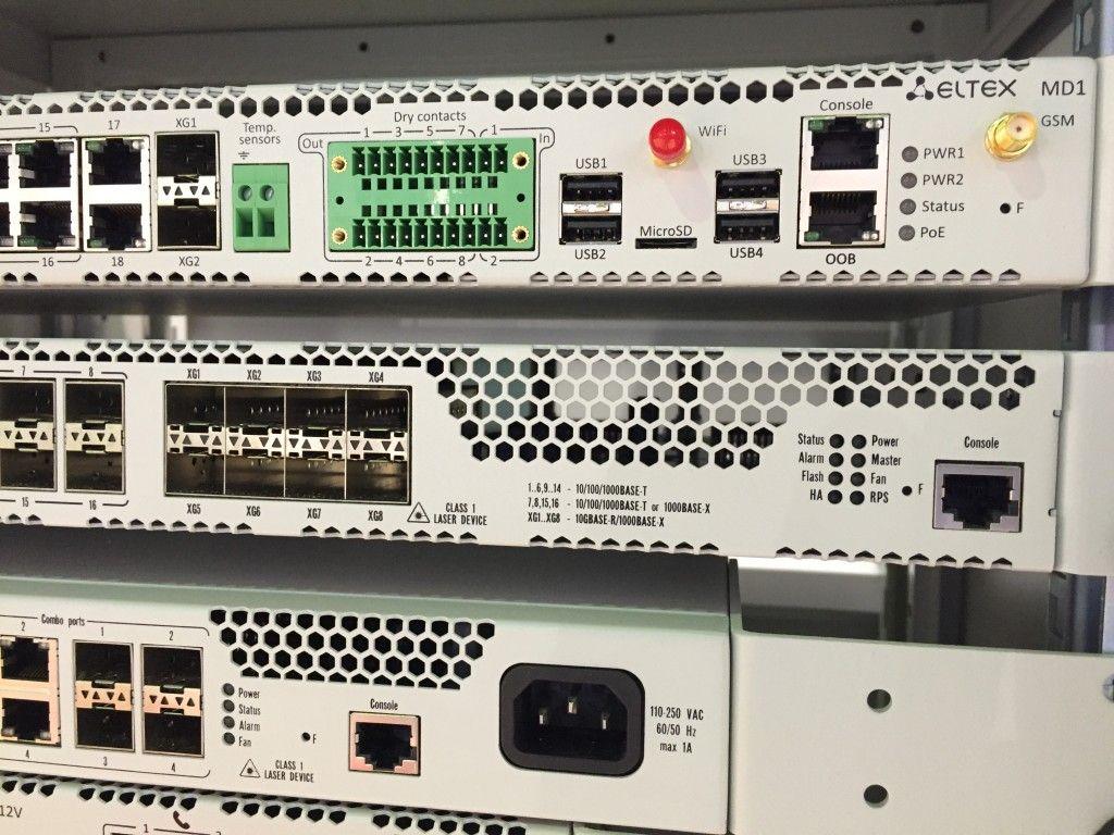 ELTEX GPON, VoIP, Ethernet, WiFi